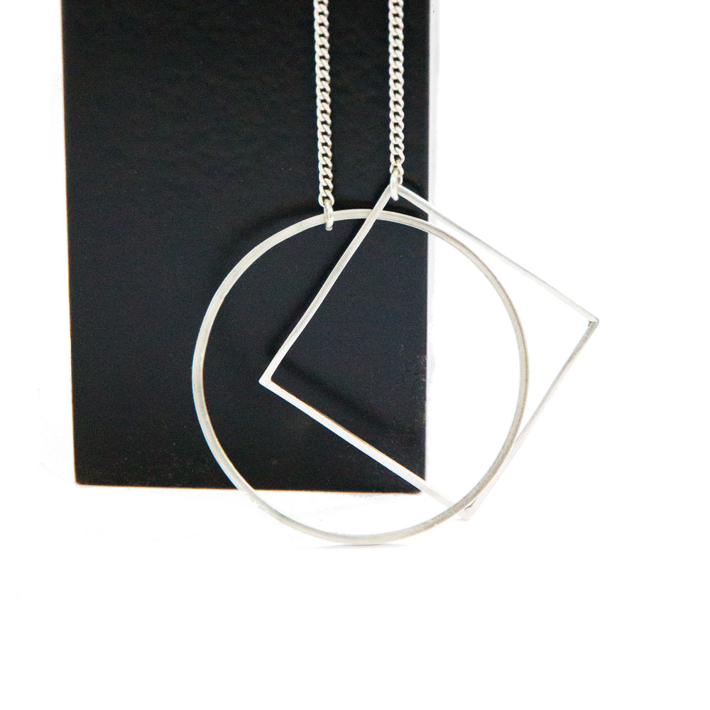 GEOMETRY NECKLACE - LARGE