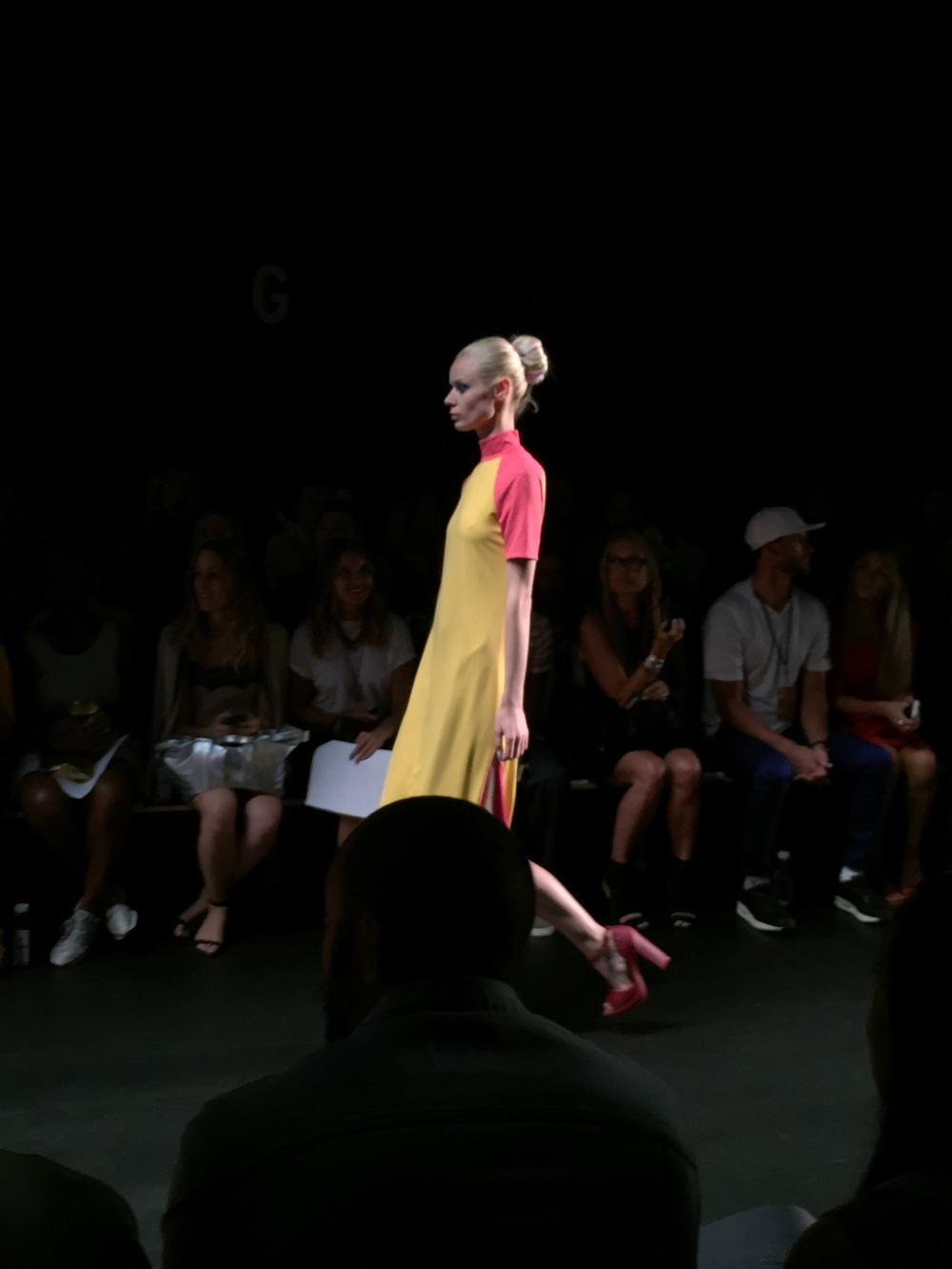 Color blocking at Georgine