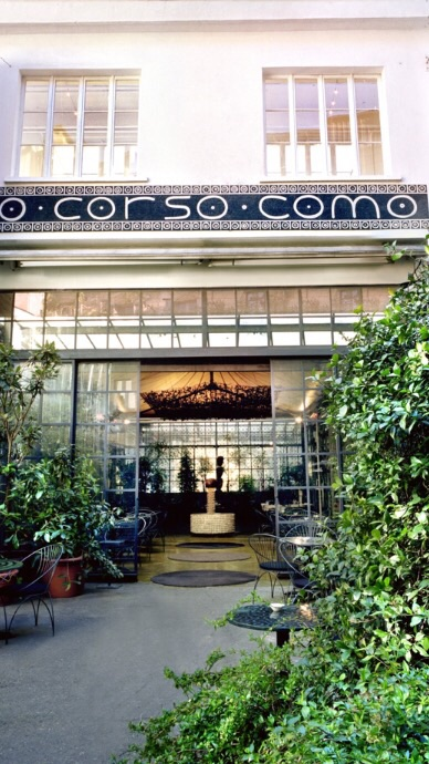 The front of Corsa Como