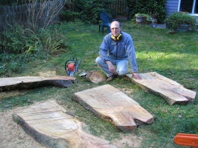 brian with cherry slabs.JPG