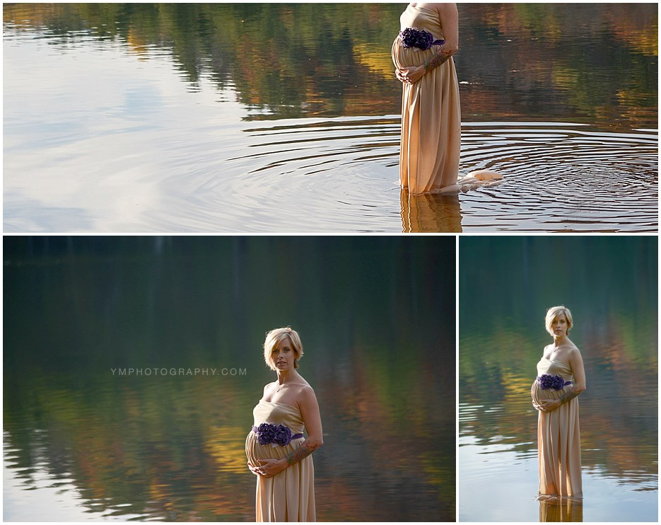 Bolton Landing, NY Maternity Session - YM Photography