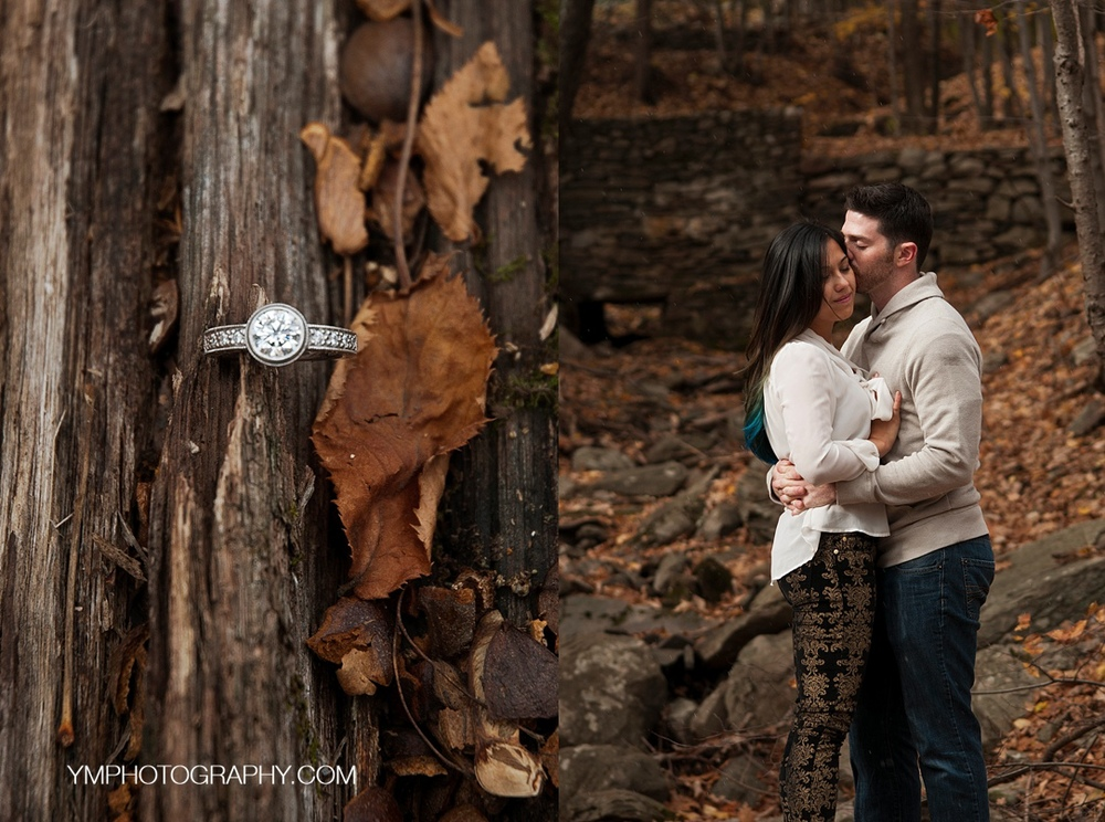 Woodstock, NY Engagement Session © ymphotography 2015 www.ymphotography.com