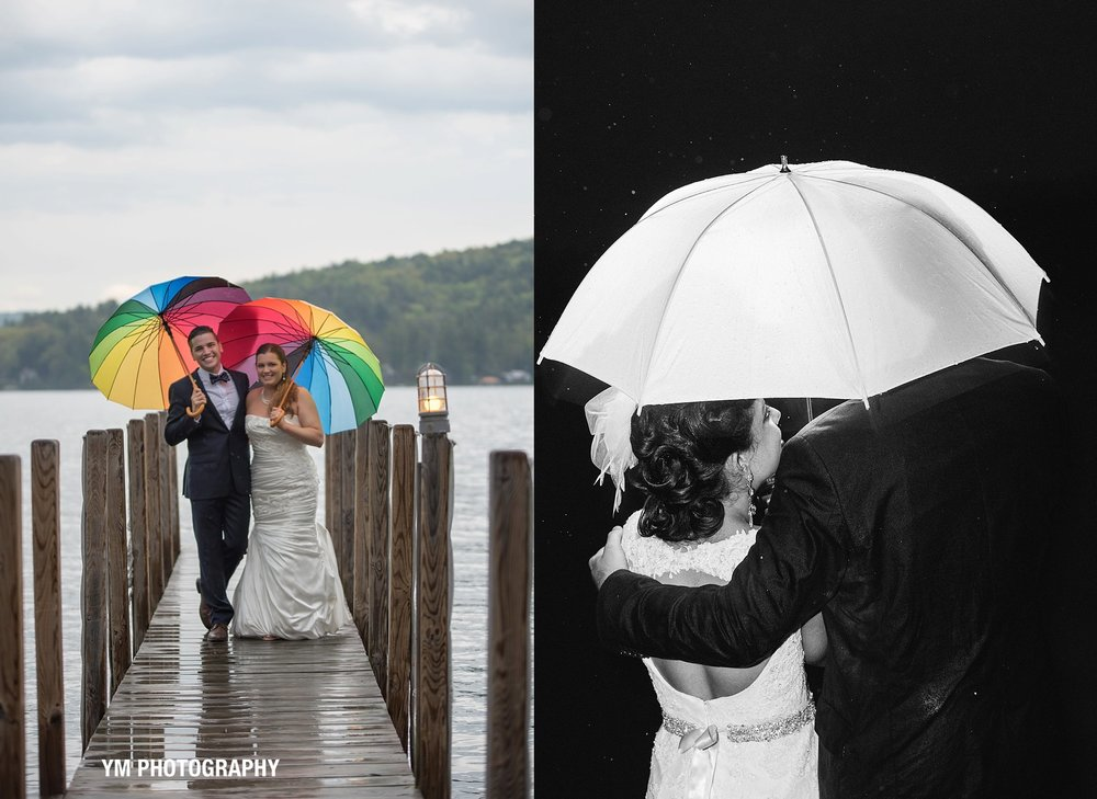 click on the image above to see our pinterest board for rainy wedding day inspiration.