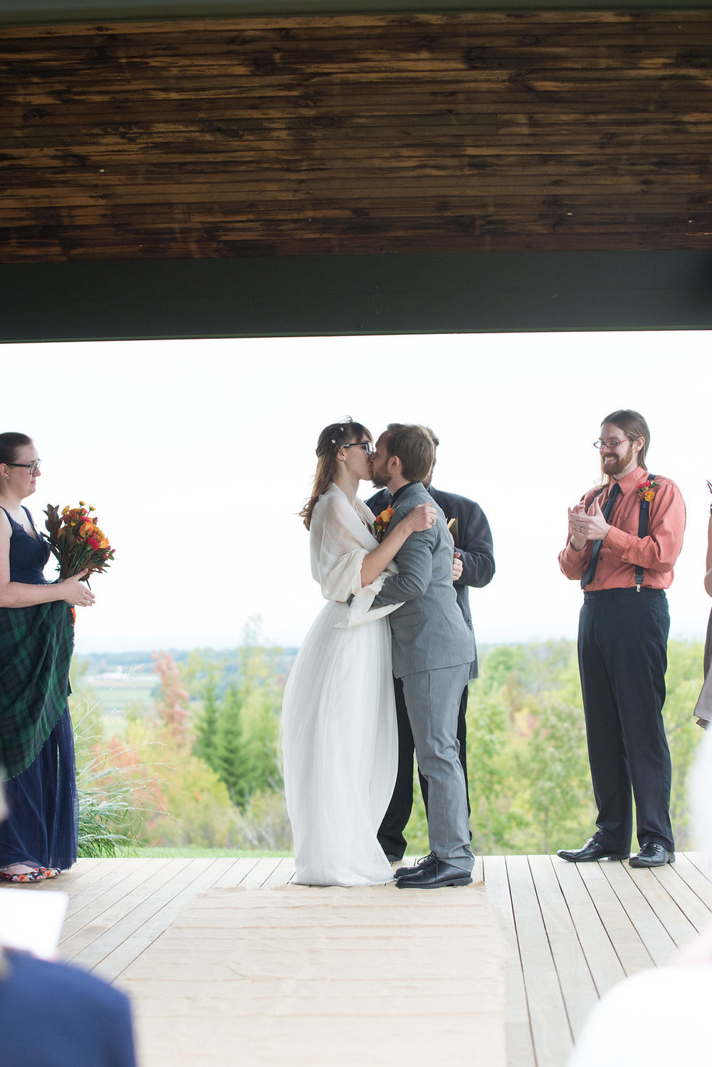 first-kiss-wedding-canajoharie-ny-wedding-ym-photography