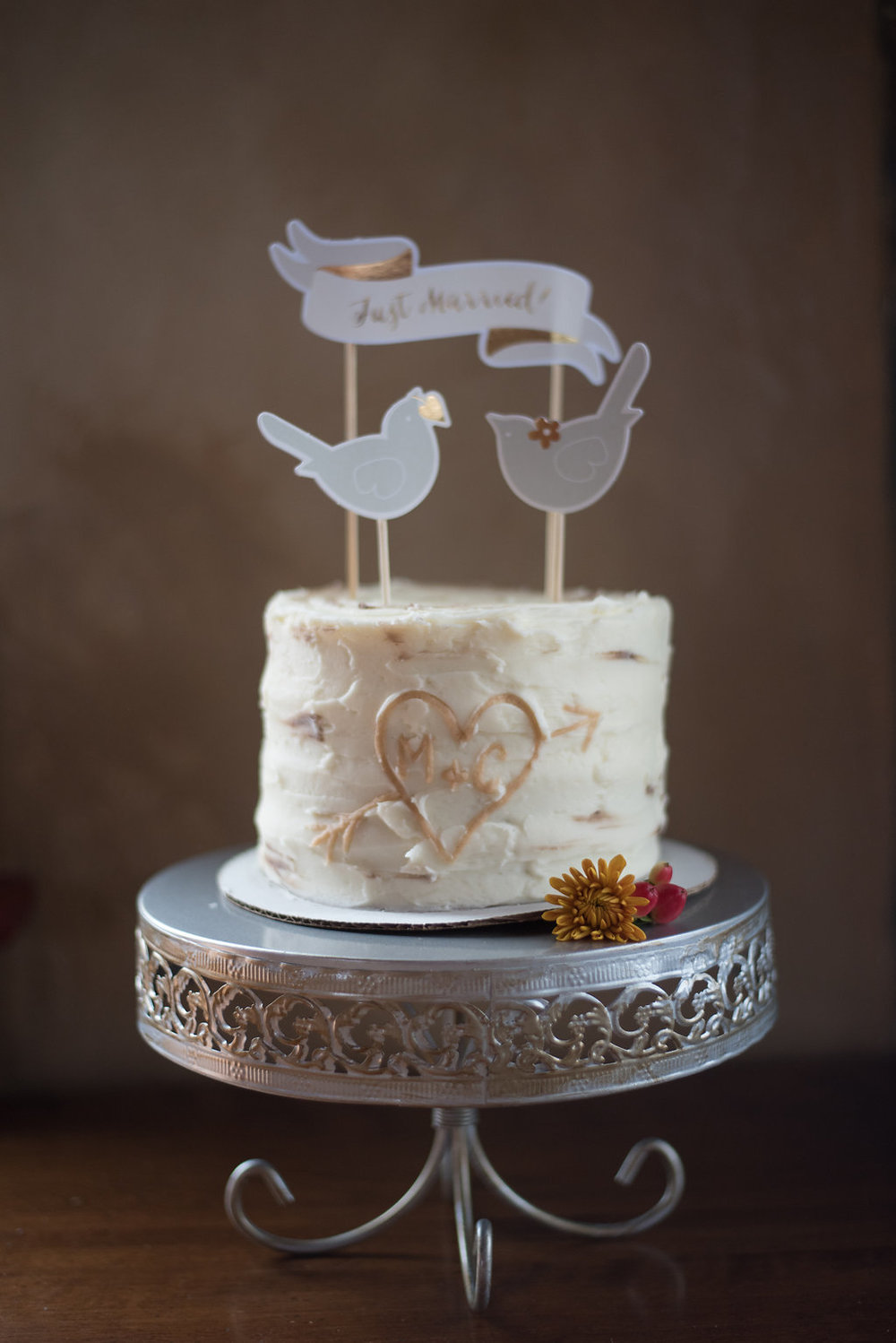 wedding-cake-cute-love-birds-canajoharie-ny-wedding-ym-photography