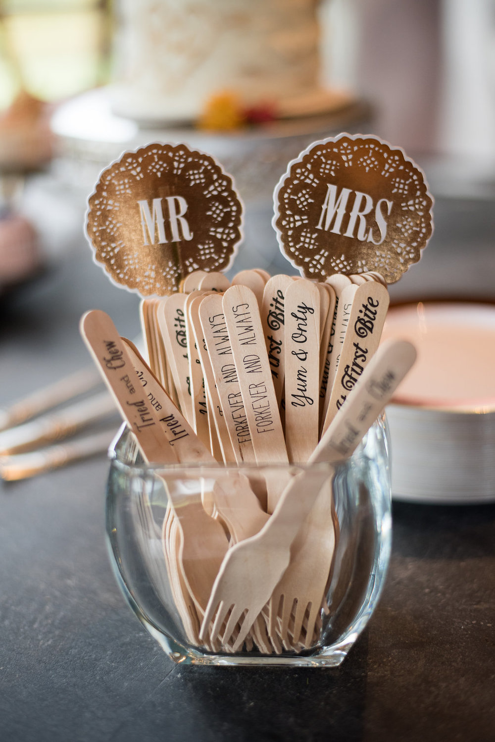 dessert-forks-cute-canajoharie-ny-wedding-ym-photography