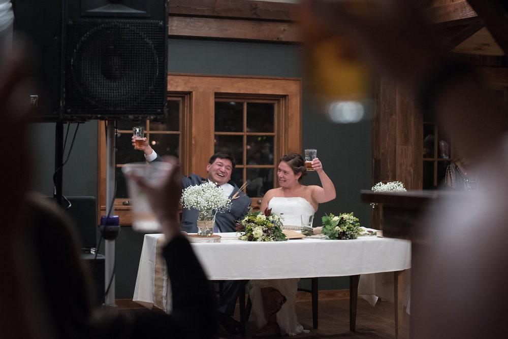 toast-bride-groom-golden-arrow-lakeside-resort-lake-placid-ny-wedding-ym-photography