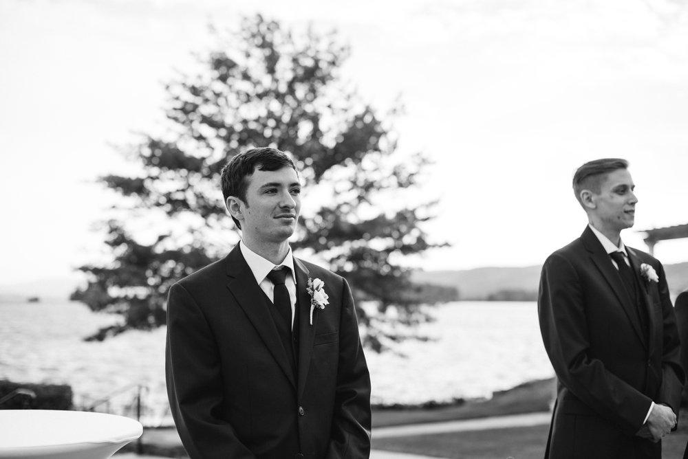 groom-ceremony-sagamore-resort-lake-george-ny-wedding-ym-photography