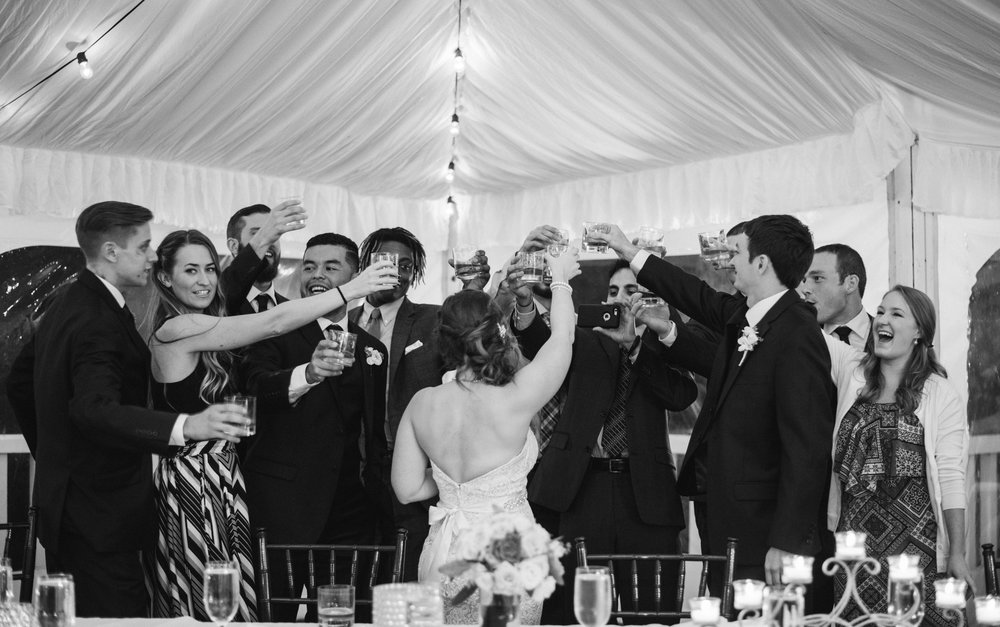 wedding-toast-reception-sagamore-resort-lake-george-ny-wedding-ym-photography