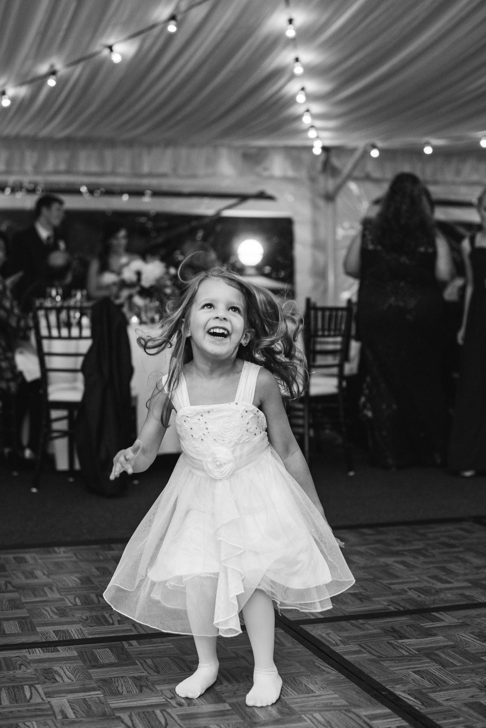 florwer-girl-dancing-sagamore-resort-lake-george-ny-wedding-ym-photography