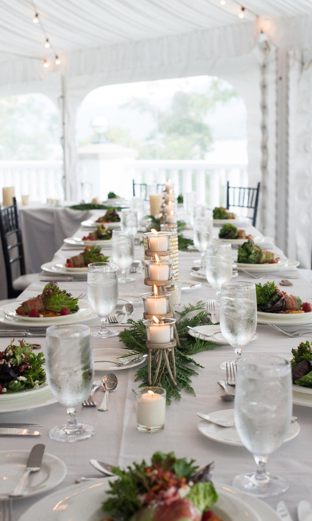 head-table-setting-reception-sagamore-resort-lake-george-ny-wedding-ym-photography