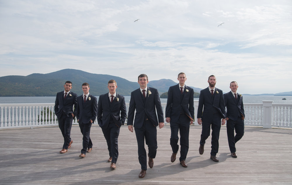 grooms-men-bridal-party-sagamore-resort-lake-george-ny-wedding-ym-photography