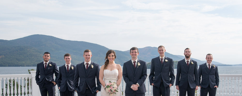 grooms-men-bride-bridal-party-sagamore-resort-lake-george-ny-wedding-ym-photography