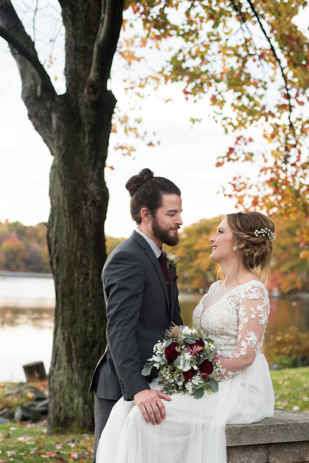 bride-and-groom-old-daley-on-crooked-lake-albany-ny-wedding-ym-photography