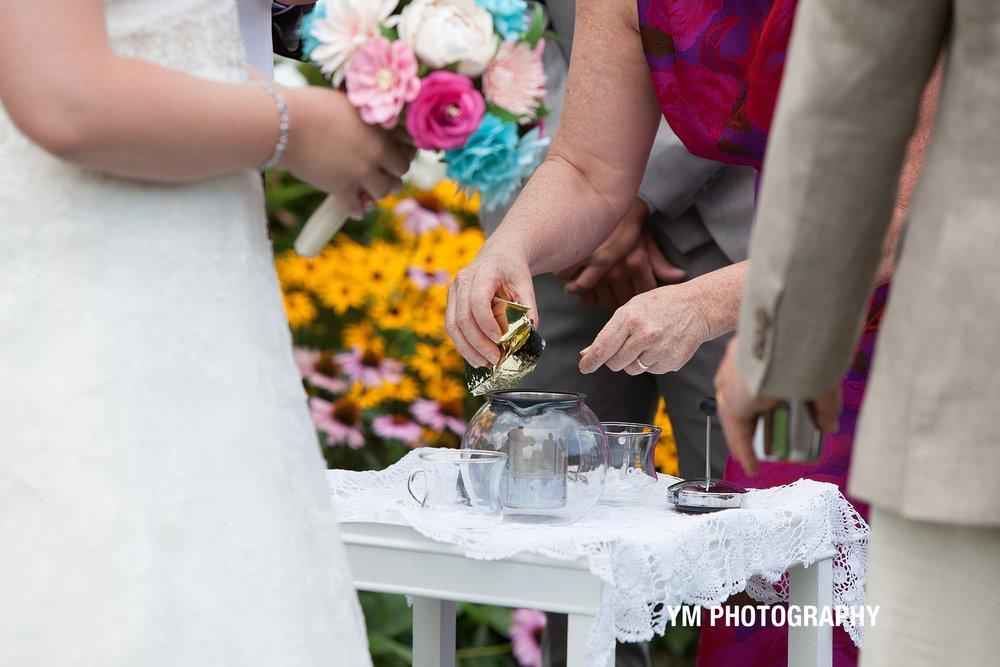 Tea Ceremony Wedding Lake George NY YM Photography