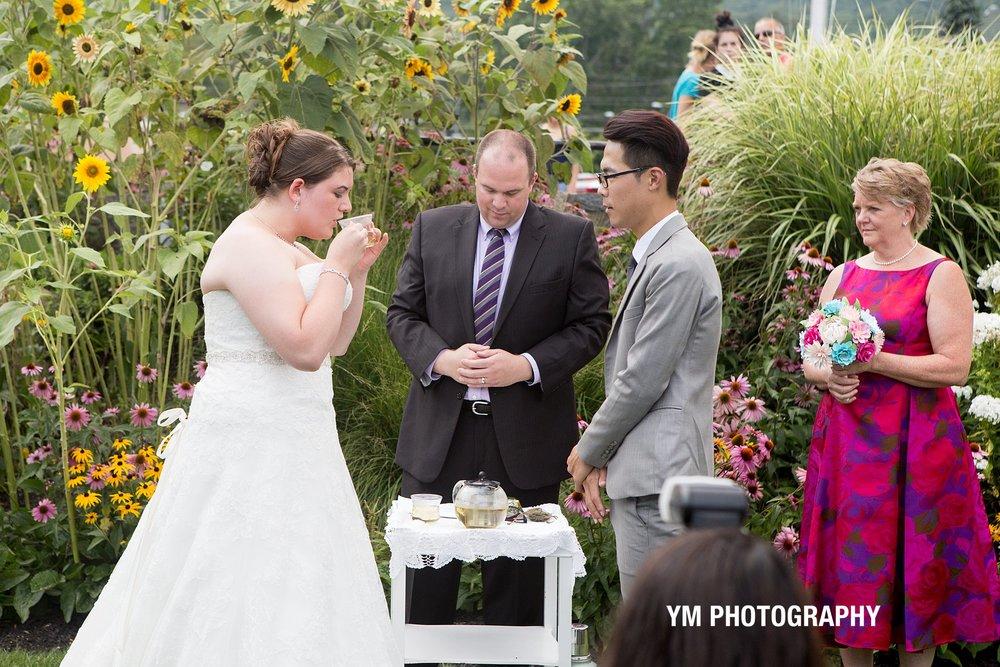 Tea Ceremony Lake George NY YM Photography