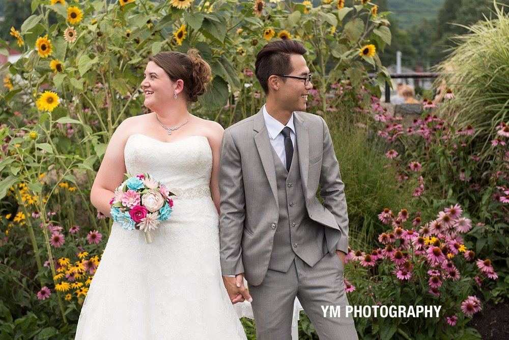 Tea Ceremony Wedding Lake George NY YM Photography