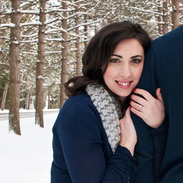 Winter engagements can be so beautiful... #ymphotographyny #winterengagement