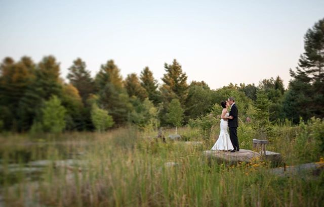 There is nothing more Adirondack than a wedding at #thewildcenter! #ymphotographyny #adirondackwedding