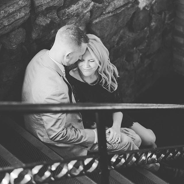 A flashback to this beautiful couple's engagement session in downtown Saratoga Springs. I love when I can capture moments like this... #ymphotographyny