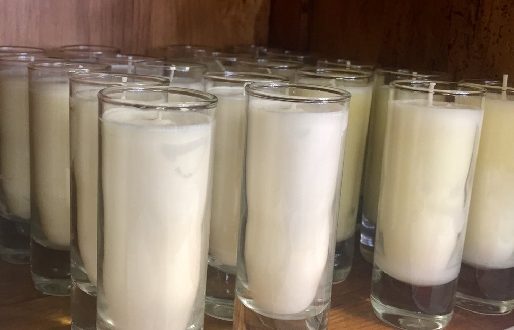 These Mixture Candles make a simple statement. They're made with 100% soy wax, and they smell absolutely amazing.