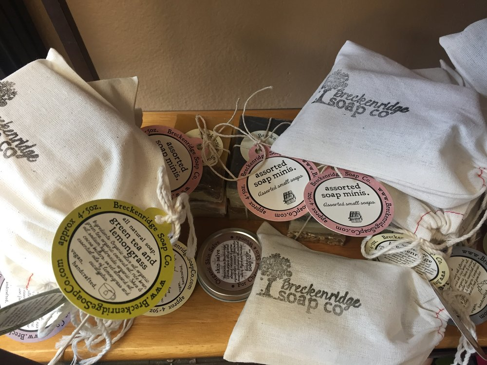 Breckenridge Soap Co...so many amazing scents to choose from!