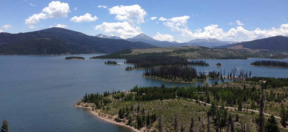 Lake Dillon in summer