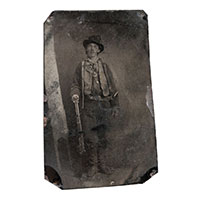 Billy the Kid Tintype Sold $2,300,000 2011 Old West Auction