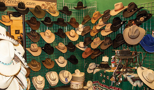 Stop for a hat after you've got your boots picked out.