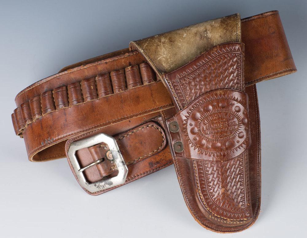 Lot 349 -Kingsville Lumber Co. Holster with Belt Sold $3,835