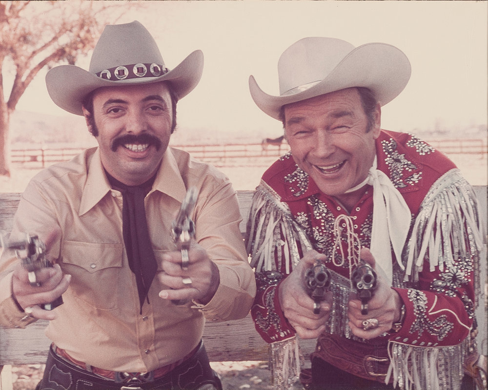 Snuff Garrett and Roy Rogers.
