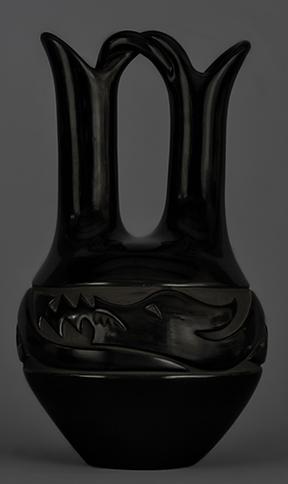 Mary Singer Carved Wedding Jar - Est. $4,000-5,000