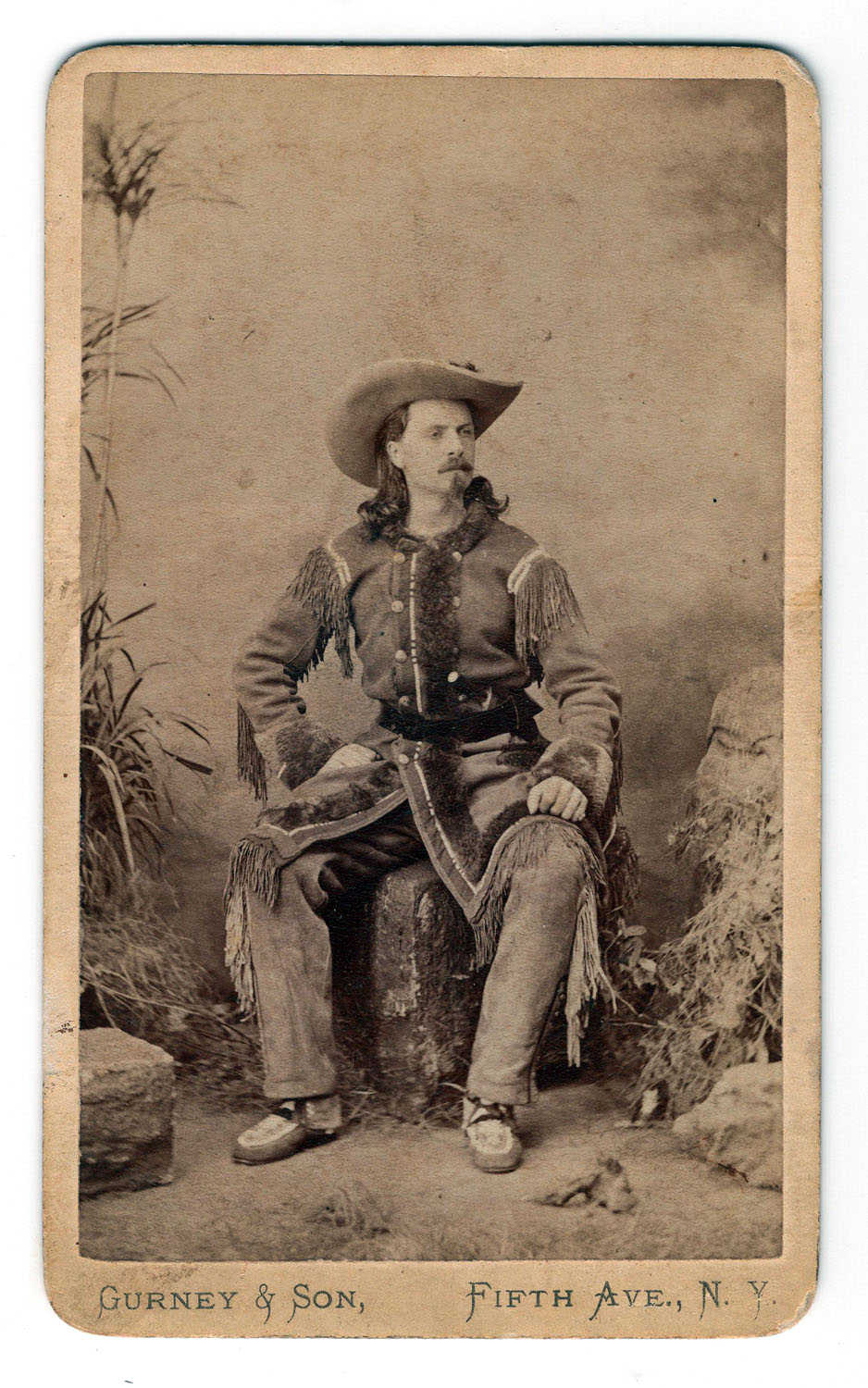 Buffalo Bill Cody Cabinet Card - Lot 372