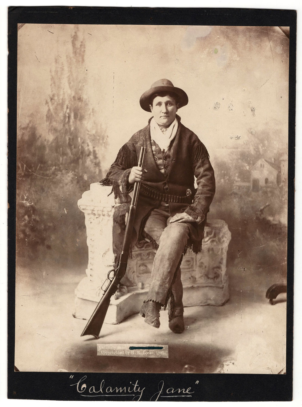 Calamity Jane Photograph - Lot 78
