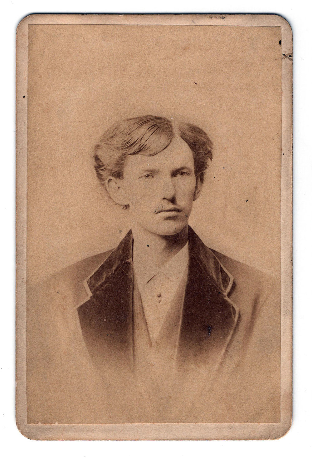 Doc Holliday CDV - Lot 356