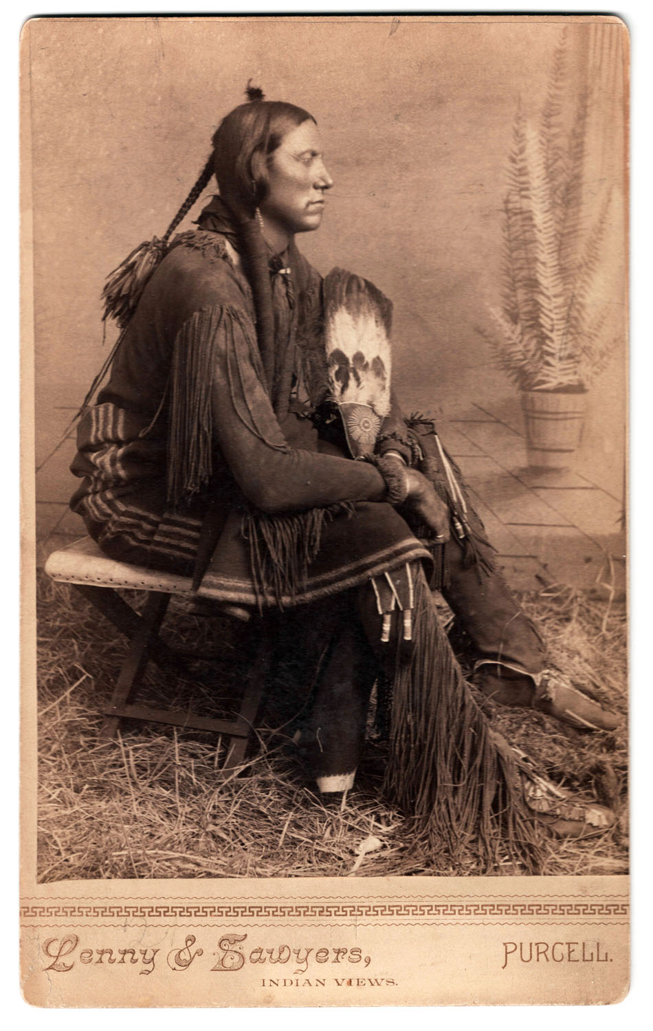 Quanah Parker Cabinet Card - Lot 125