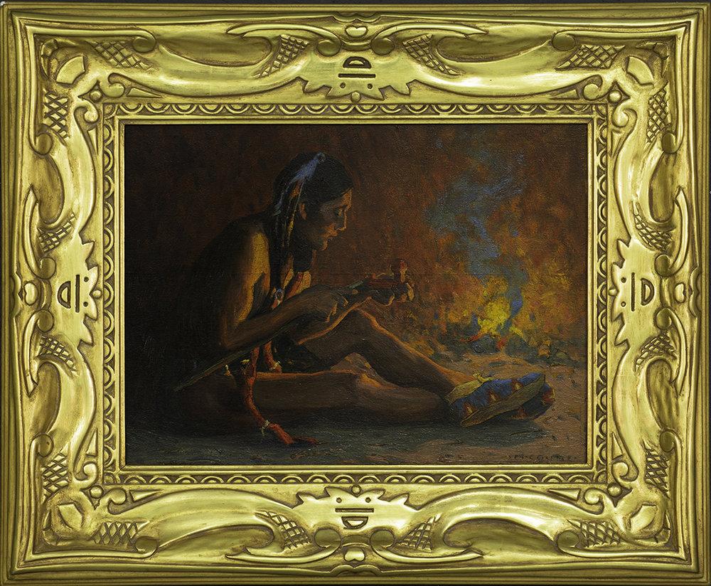 Eanger Irving Couse oil painting; estimate $125,000-150,000.