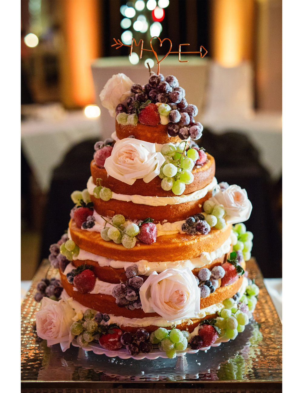 Let Them Eat Cake The Naked Wedding Cake Trend Bisou Weddings