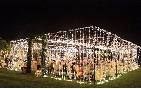 tent-box-of-lights.jpg & Outdoor Reception Tents u2014 Bisou Weddings and Events