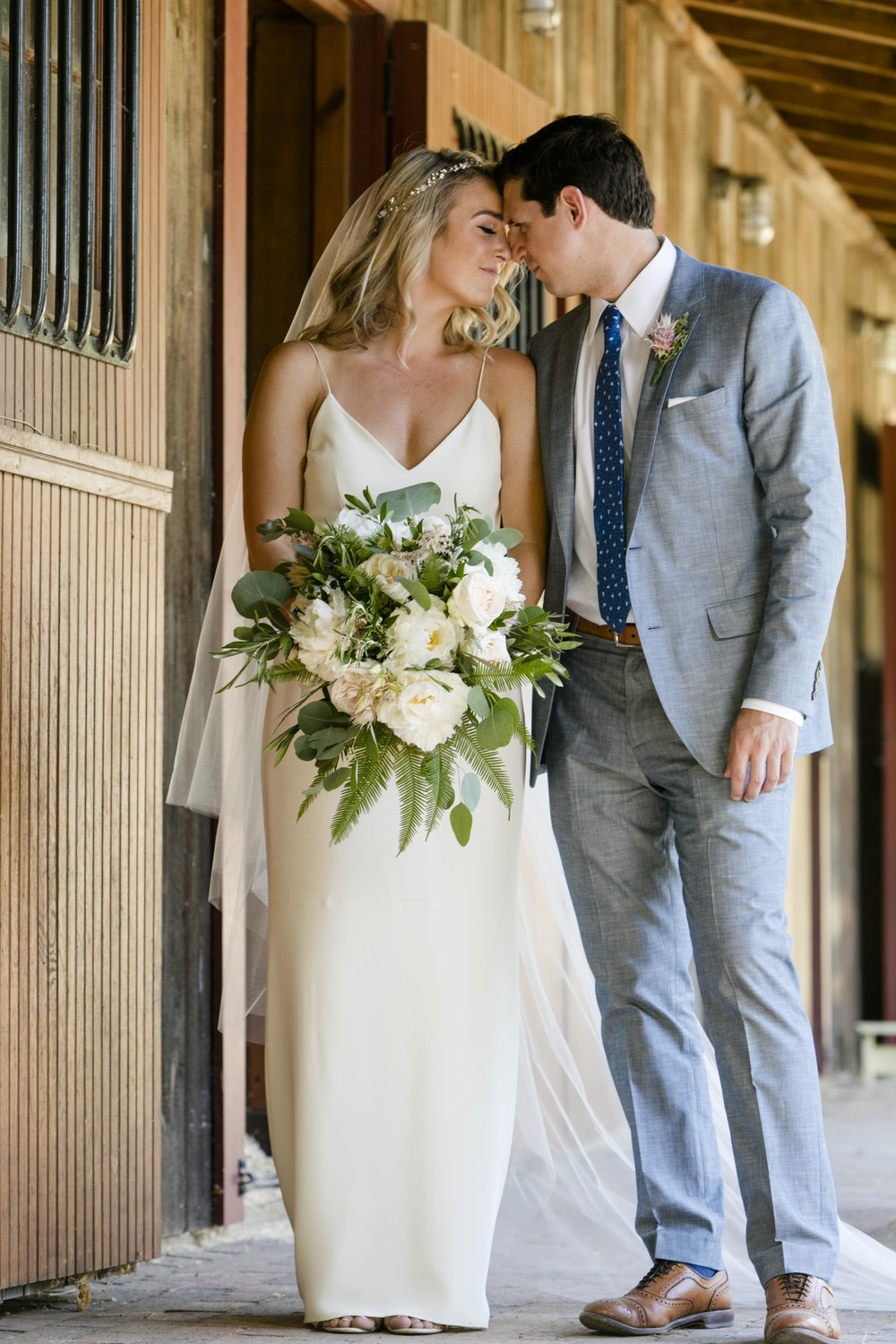 Private Farm Intimate/ Classic Summer Wedding