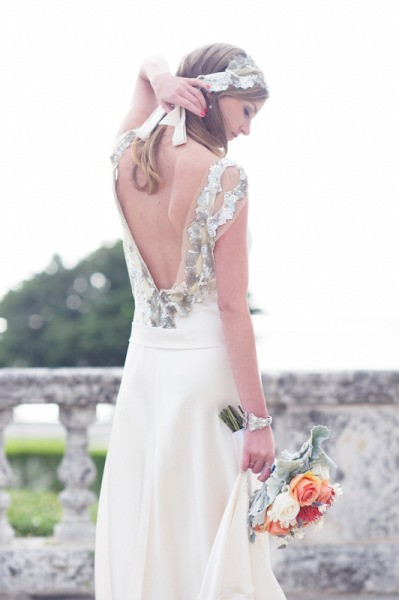 Johanna Johnson wedding gown and headpiece via stylemepretty.com.jpg