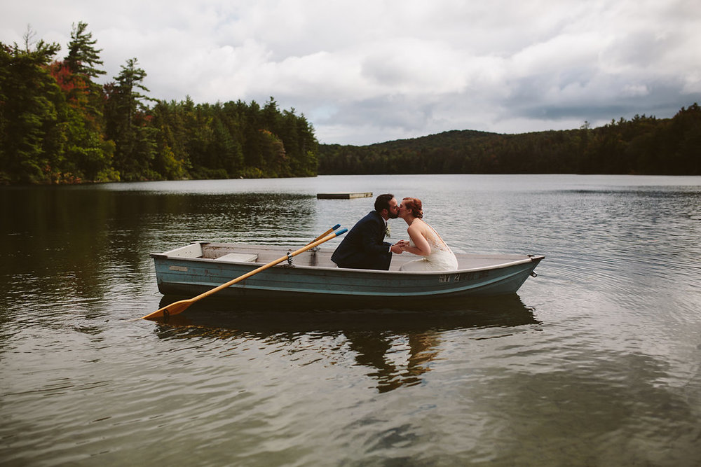 Lapland Lake Center                                                                                              Rustic/Charming Fall Wedding