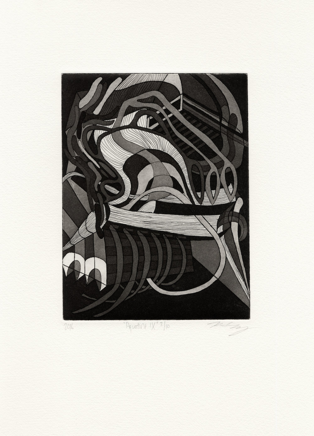 Aquatint IX