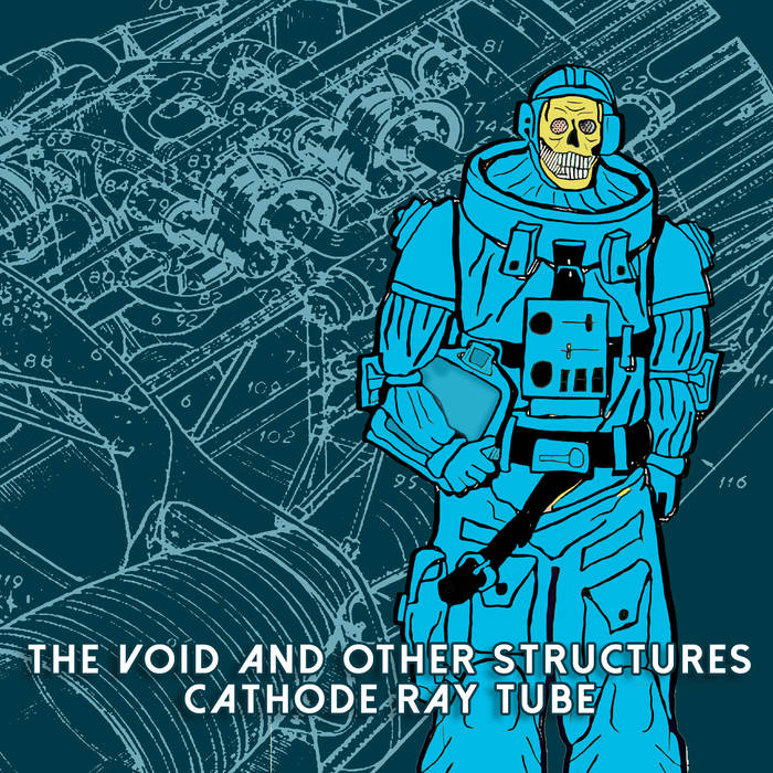"""CATHODE RAY TUBE - """"The Void and Other Structures""""  (Component Recordings)  In space, no one can hear you groove. Or can they? Electronic artist Cathode Ray Tube drops another release of intense, beat-driven audio adventures. This time, CRT is shooting you into space to explore the vast unknown regions of our universe. Sounds like a dream come true, right?It would be, except a fleet of enemy alien ships is preparing to intercept your flight.  This release is fueled by energetic, high-powered beats, played over a backing track of wistful and airy soundscapes that lend a cold, vacuous atmosphere to the overall feeling. The track times average at over ten minutes each, which makes it very possible to get lost inside the sound. Although the music has a unifying theme, each piece lends its own individual narrative to the tale.  The balance of driving rhythms against ambient backdrops is what allows  The Void and Other Structures  to be a true listening experience, pulling us into the story and asking us what happens next. The variety of sounds, combined with the larger picture makes this release perfect for repeat plays. Recommended for interstate travel, study, or performing autopsies in a montage.  Gray Lee   componentrecordings.bandcamp.com/album/cathode-ray-tube-the-void-and-other-structures"""