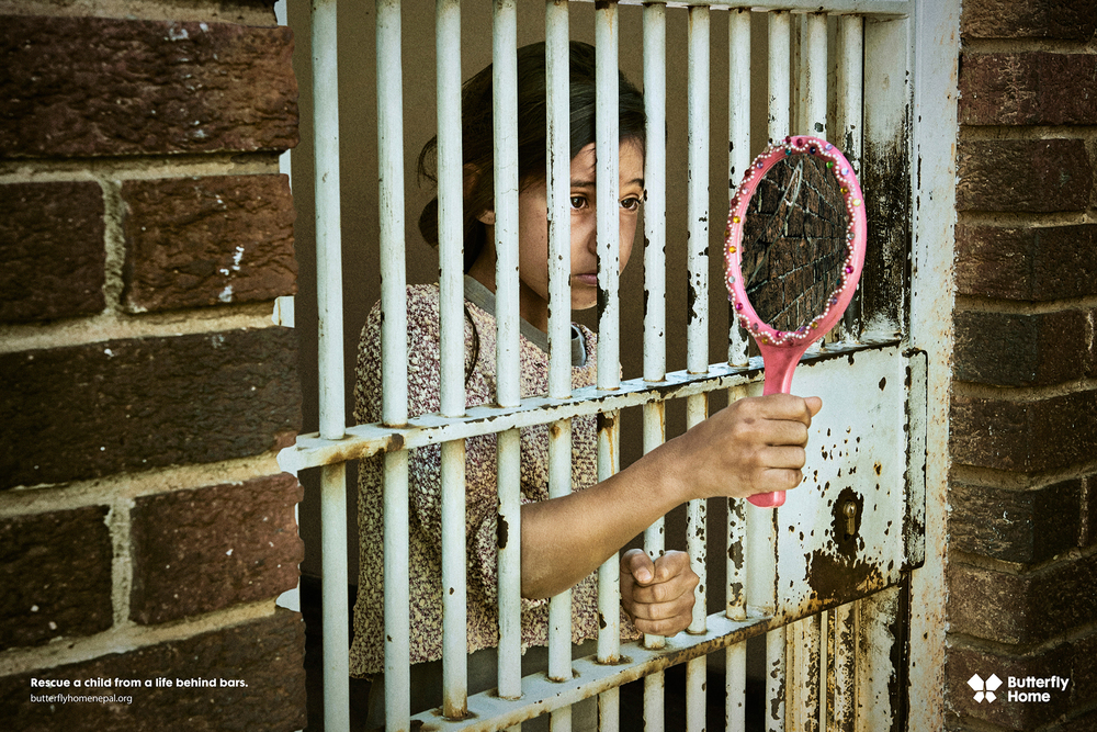 Rescue a child from a life behind bars