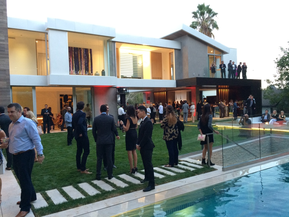 Guests enjoying the final party hosted by The Agency.