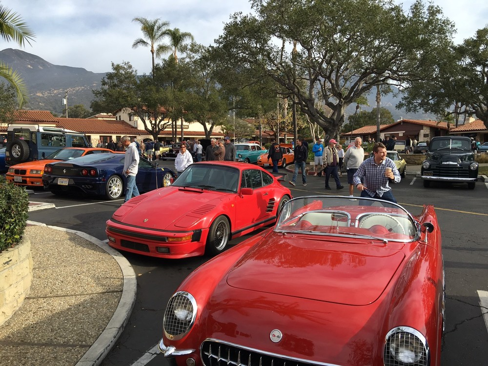 "Montecito's ""Cars & Coffee"""