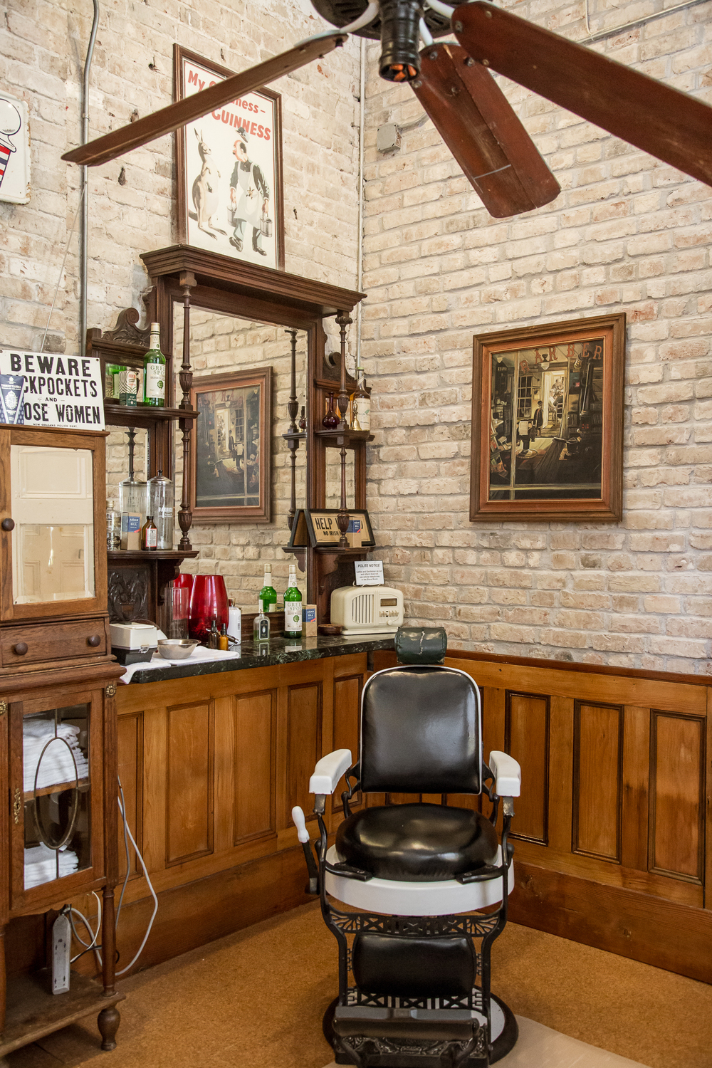 Aiden Gill Barbers for Esquire