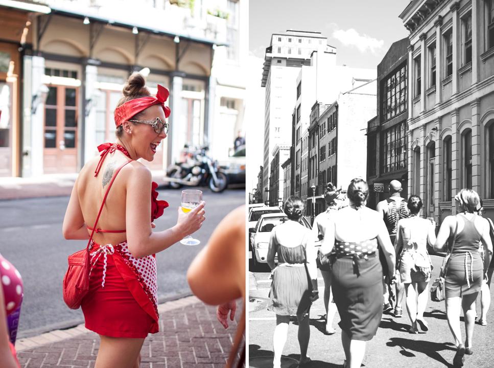 Red Dress Run, NOLA