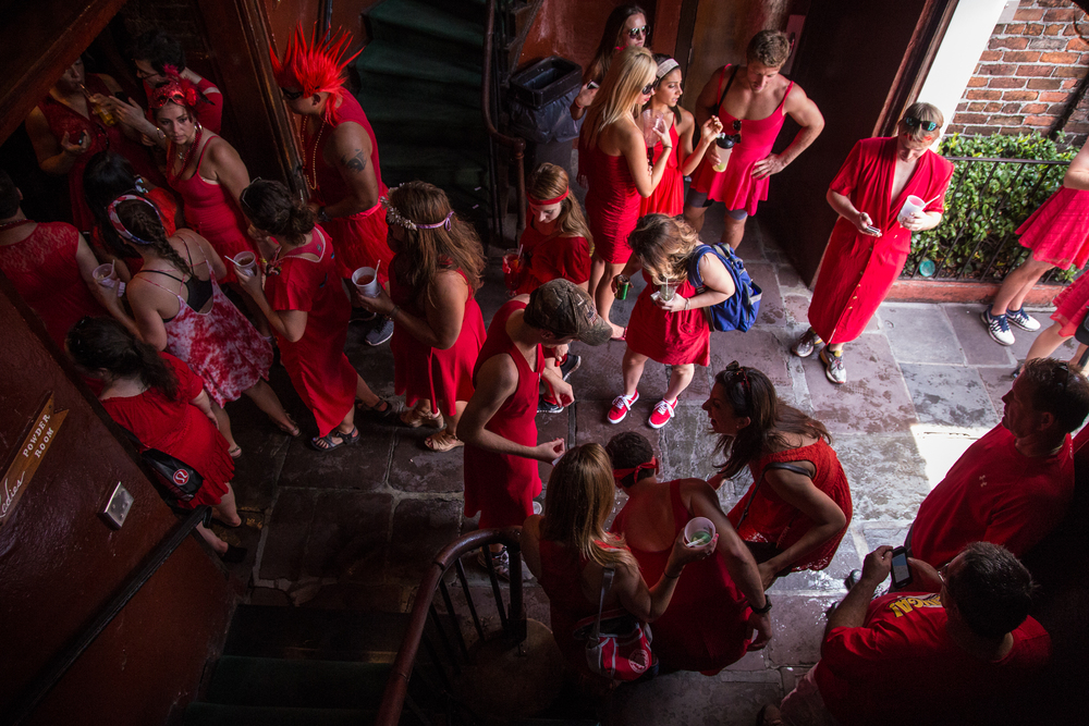 Red Dress Run, NOLA